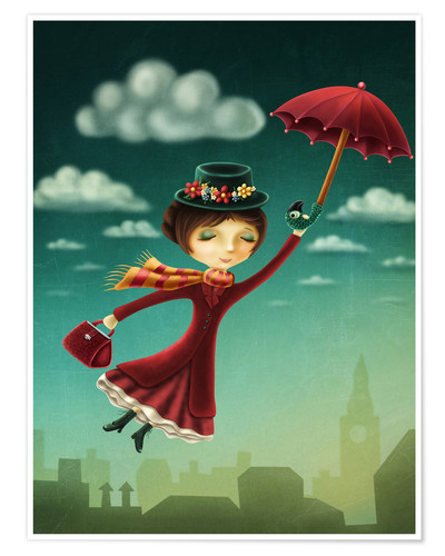 Poster Premium Mary Poppins
