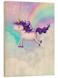 Legno  Unicorn with rainbow - Elena Schweitzer