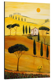 Alluminio Dibond  Colored Tuscany - Christine Huwer