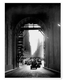 Poster Premium  Arch at Grand Central Station - historical