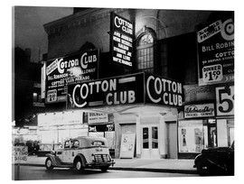 Stampa su vetro acrilico  Cotton Club ad Harlem, New York