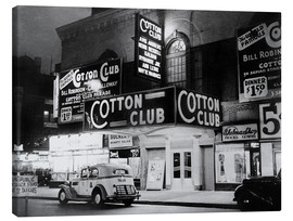 Stampa su tela  Cotton Club in Harlem, New York