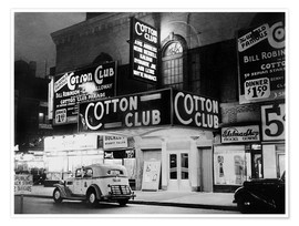 Poster Premium  Cotton Club ad Harlem, New York