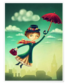 Poster Premium Marry Poppins