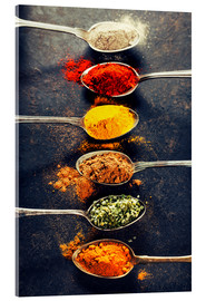 Vetro acrilico  Spices Mix