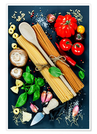 Poster  Italian kitchen