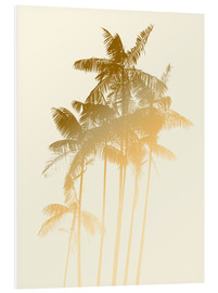 Forex  Palm trees design poster - tobacco - Alex Saberi