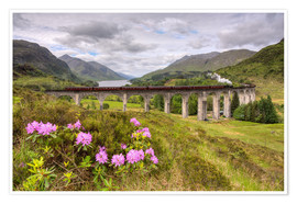 Michael Valjak - Glenfinnan Viaduct in Scotland with Jacobite Steam Train