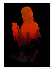 Poster Premium  The Walking Dead - Daryl Dixon - Alternative fanart - HDMI2K