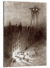 Stampa su alluminio  Martian Viewing Drunken Crowd - Henrique Alvim Correa
