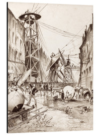 Alluminio Dibond  Humans Dissecting Martian War Machines - Henrique Alvim Correa