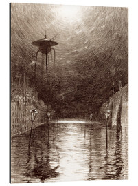 Alluminio Dibond  Martian Machine Over the Thames - Henrique Alvim Correa