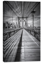 Tela  NEW YORK CITY Brooklyn Bridge - Melanie Viola