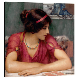 Stampa su alluminio  The Letter - John William Godward
