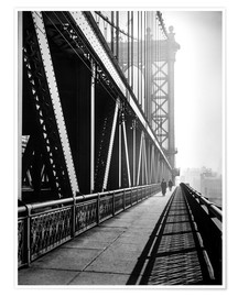 Poster  Manhattan Bridge 1936 - Christian Müringer