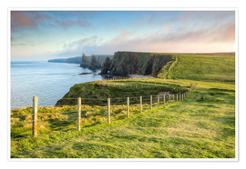 Poster Premium Duncansby Stacks Scotland