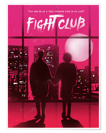 Poster Premium  Fight club - 2ToastDesign