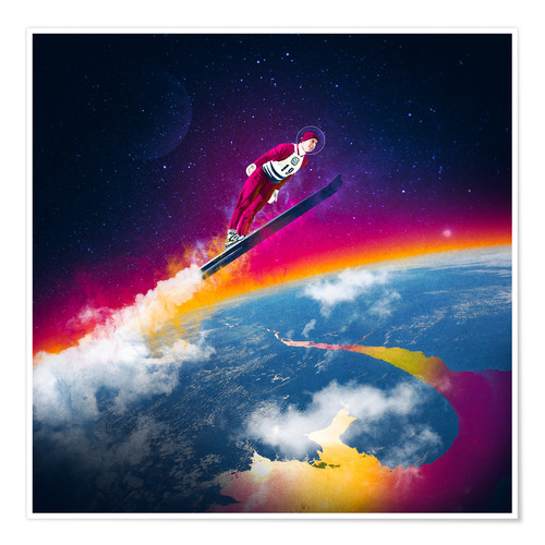 Poster Premium One Giant Leap