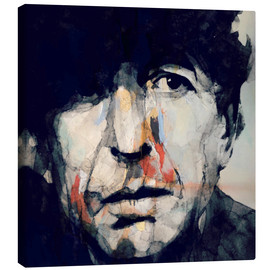 Stampa su tela  Leonard Cohen - Paul Lovering Arts