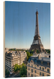 Legno  Eiffel Tower in Paris, France - Jan Christopher Becke
