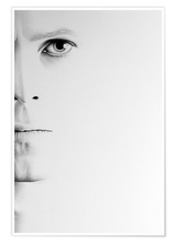 Poster  David Bowie Minimal Portrait - Ileana Hunter