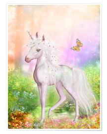 Poster  Unicorn Smile - Dolphins DreamDesign