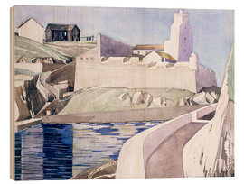 Stampa su legno  The Lighthouse - Charles Rennie Mackintosh
