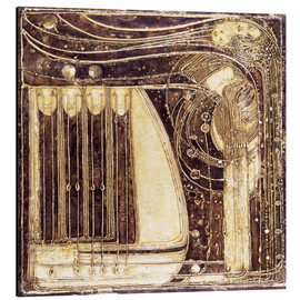 Alluminio Dibond  The Opera of the Sea - Margaret MacDonald Mackintosh