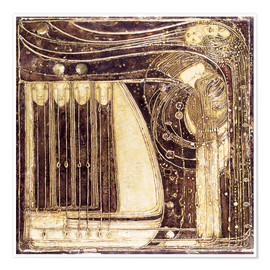 Poster  The Opera of the Sea - Margaret MacDonald Mackintosh