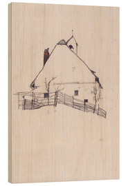 Legno  Residential house with fence - Egon Schiele