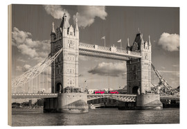 Legno  London, Tower Bridge Black and White - rclassen