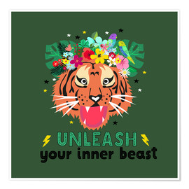 Poster Premium Unleash your inner beast