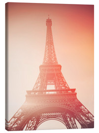 Stampa su tela  Paris, my love