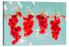 Stampa su tela  Red currants full - K&L Food Style