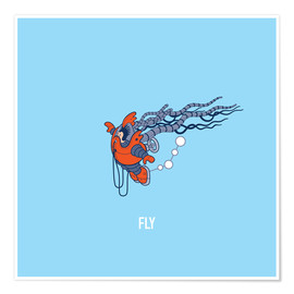 Poster Premium  Fly - Olly