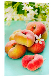 Vetro acrilico  Peaches full - K&L Food Style