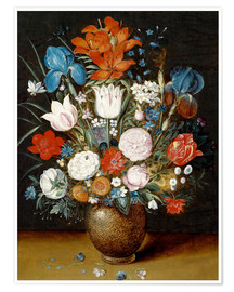 Poster Premium Bouquet of flowers in a vase