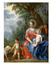 Poster Premium The Holy Family with John