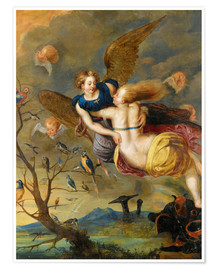 Poster Premium An Allegory of Air