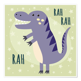 Poster Premium  Little dinosaur - Kidz Collection