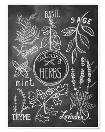Poster Premium  30743 Herbs - Lily & Val