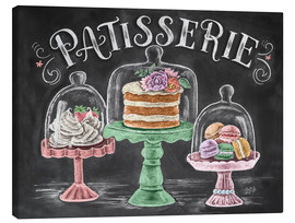 Stampa su tela  Patisserie - Lily & Val