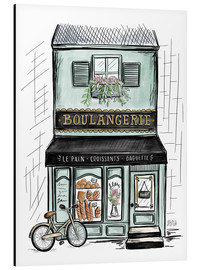Alluminio Dibond  French Shop Front - Boulangerie - Lily & Val
