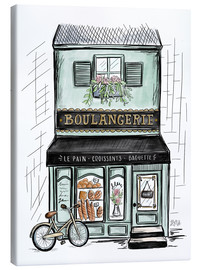 Tela  French Shop Front - Boulangerie - Lily & Val