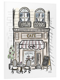 Forex  French Shop Front - Café - Lily & Val