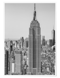 Poster Premium  Skyline di New York City dall'alto
