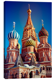 Stampa su tela  St. Basil's Cathedral, Russia