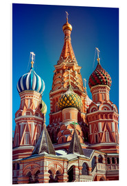 Stampa su PVC  St. Basil's Cathedral, Russia