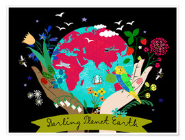 Poster Premium Darling Planet Earth