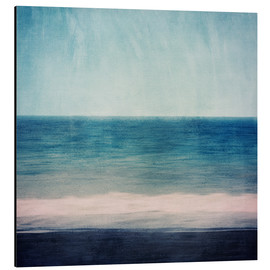 Alluminio Dibond  Abstract seascape in blues and purples - Sybille Sterk